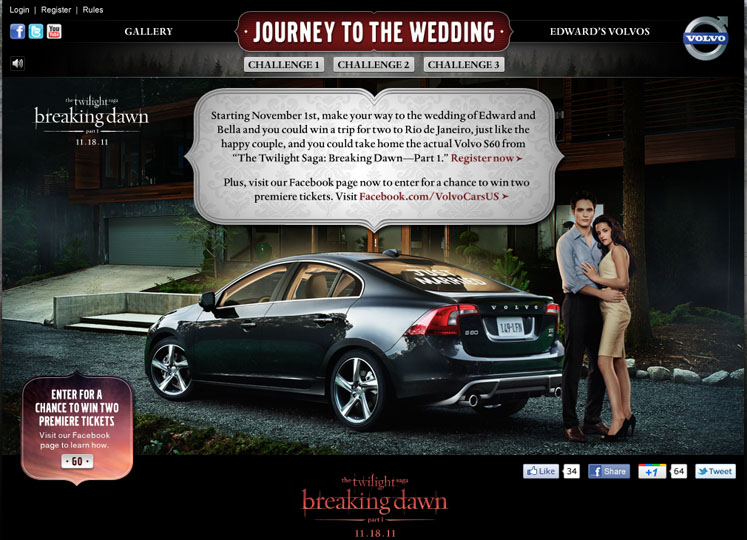 Volvo & Twilight: Journey to the Wedding