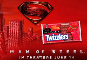 Man of Steel & Twizzlers