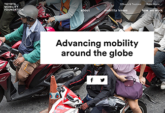 The Toyota Mobility Foundation